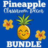 Pineapple Classroom Theme | All About Me