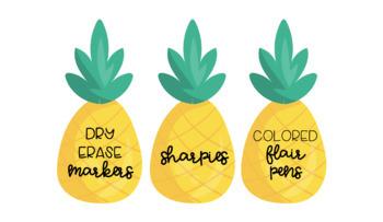 Pineapple Classroom Wishlist