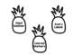 Pineapple Classroom Wishlist *EDITABLE*