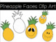 Pineapple Clip Art FREEBIE