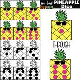 Pineapple Clip Art - Math Dice {jen hart Clip Art}