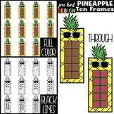 Pineapple Clip Art - Math Ten Frames {jen hart Clip Art}