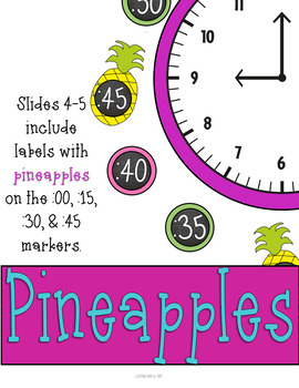 Pineapple Clock Decor: For Your Sweet and Tropical Themed Classroom