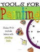 Painting Themed Clock Decor: For Your Art-Inspired Classroom