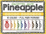 Pineapple:  Color Posters