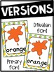 Pineapple Color Posters - Pineapple Classroom Decor