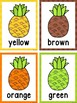 Pineapple/Tropical Color Word Posters & Cards