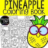 Pineapple Coloring Pages {Made by Creative Clips Clipart}
