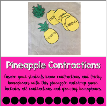 Pineapple Contraction Match-Up