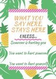 Pineapple Counseling Confidentiality Statement