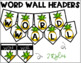Pineapple Decor: A Complete Word Wall