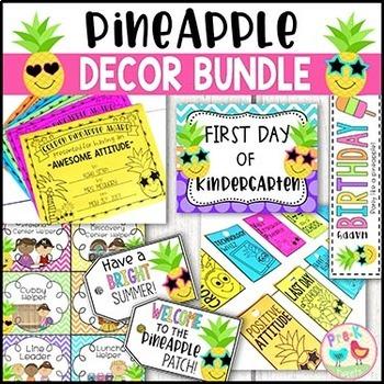 Pineapple Decor Bundle