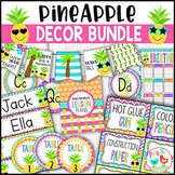 Pineapple Classroom Decor Bundle