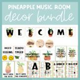 Pineapple Music Room Decor Bundle