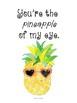 Pineapple Decor Posters