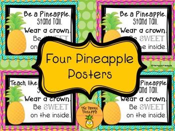 Pineapple Decor Signs
