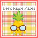 Pineapple Classroom Theme | Desk Tags