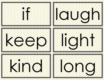 Pineapple Dolch Sight Words - Set 5 - Third Grade - Word Wall Cards