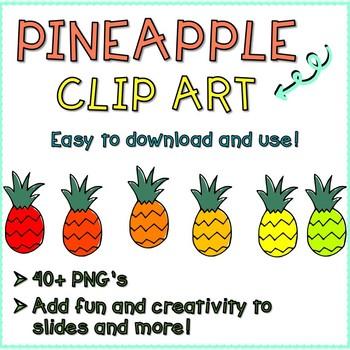 Pineapple Doodle Clip Art