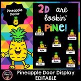 Pineapple Door Display Editable