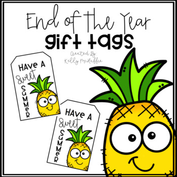 Pineapple EOY Gift Tags