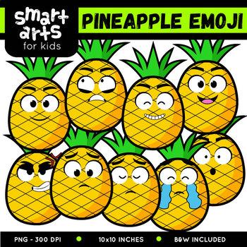 Pineapple Emoji Clip Art