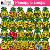 Pineapple Emoji Clip Art: Emoticon Graphics {Glitter Meets Glue}