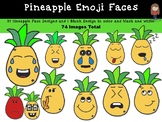 Pineapple Emoji Faces