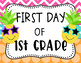 Pineapple First Day of School Sign
