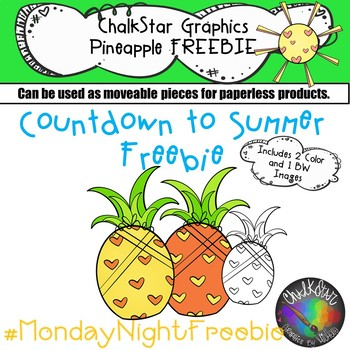 Pineapple Freebie- Chalkstar Graphics