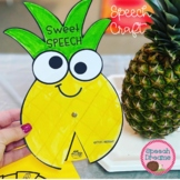 Pineapple Fruit Speech Therapy Craft {articulation and language}