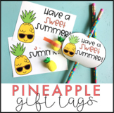 Have a Sweet Summer Pineapple End of the Year Gift Tags