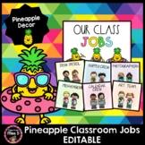 Pineapple Jobs Chart EDITABLE
