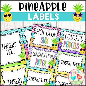 Pineapple Labels