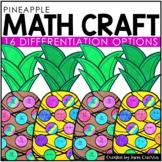Pineapple Math Craft (differentiated)