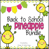 Pineapple Meet the Teacher - Back to School - Open House Bundle