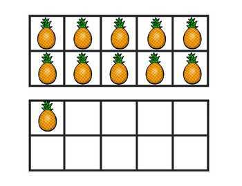 Pineapple Mini Unit and Ten Frames