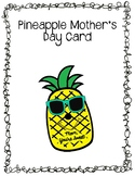 Pineapple Mother's Day Card