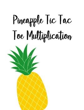 Pineapple Multiplication Tic-Tac-Toe