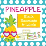 Pineapple Nametags/Name Plates & Labels