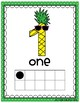 Pineapple Number Posters 0 to 20