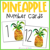 Pineapple Number Cards | 1-30