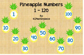 Pineapple Numbers 1 - 120