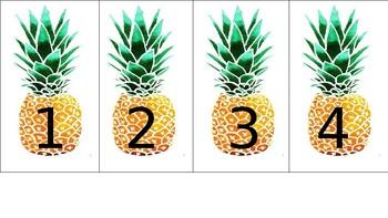 Pineapple Numbers