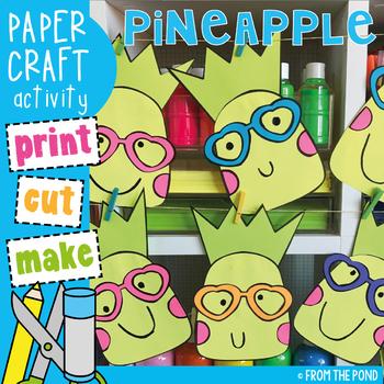 Pineapple Paper Craft