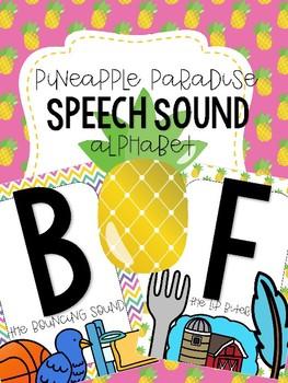 Pineapple Paradise - Speech Sound Alphabet