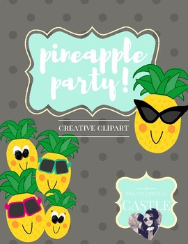 Pineapple Party! Original Clipart