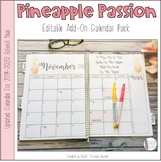 Pineapple Passion Calendar Add-On Pack 2019