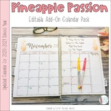 Pineapple Passion Calendar Add-On Pack 2020-21