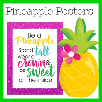 Pineapple Posters | Pineapple Theme Posters